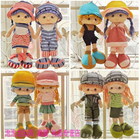 2013 new  Stuffed Toys Genuine yuppie couple doll birthday gift for children free shipping