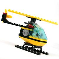 Free Shipping Helicopter kazi 0386 assembling toys children DIY 3D building blocks