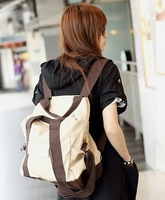 Free Shipping Women Fashion Vintage Cute Flower School Book Campus Bag Backpack New 2Colors10pcs