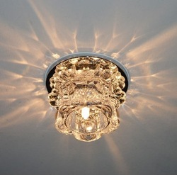 New Modern Crystal 3W LED Ceiling Light Fixture led indoor light led ceiling white light 0248(China (Mainland))
