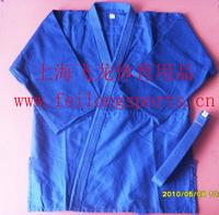 Blue judogi clothing 180cm judo suit training suit