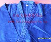 Blue judogi clothing 160cm judo suit training suit