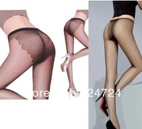 5pcs/lot Freeshipping women's tights Ultra-thin Butterfly crotch Sexy Pantyhose 4COLORS black,nude,grey,coffee