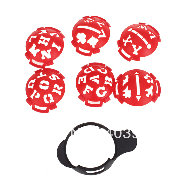 Free Shipping Golf Ball Marker Template Multi-template(China (Mainland))