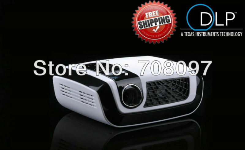 Multimedia Portable slim DLP video projector short throw proyector HDMI/VGA/TV/USB for office/business(China (Mainland))
