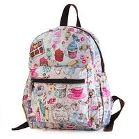 2014 Bags women's handbag vivisecret waterproof the kindergarten school bag child small backpack ice cream free shipping