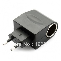 New EU 110V~240V AC to 12V DC Car Cigarette Lighter Socket Charger(China (Mainland))