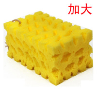 Free shipping Dense foam Large car wash sponge paint cleaning sponge car wash supplies sponge coral