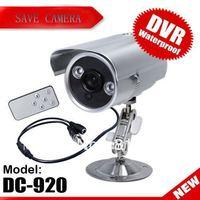 IR LED Array Motion Detection CCTV DVR Camera SD-Card Storage TV-Out DC-920