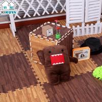 Free shipping, Wood grain kikuya mats foam puzzle mats floor mat floor leather 30 1