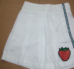 100% cotton culottes baby little girl white sports tennis ball culottes(China (Mainland))