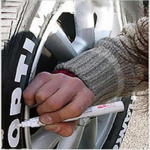 Metalloscopy pen tire tyre pen doodle pen paint pen personalized modified car decoration supplies