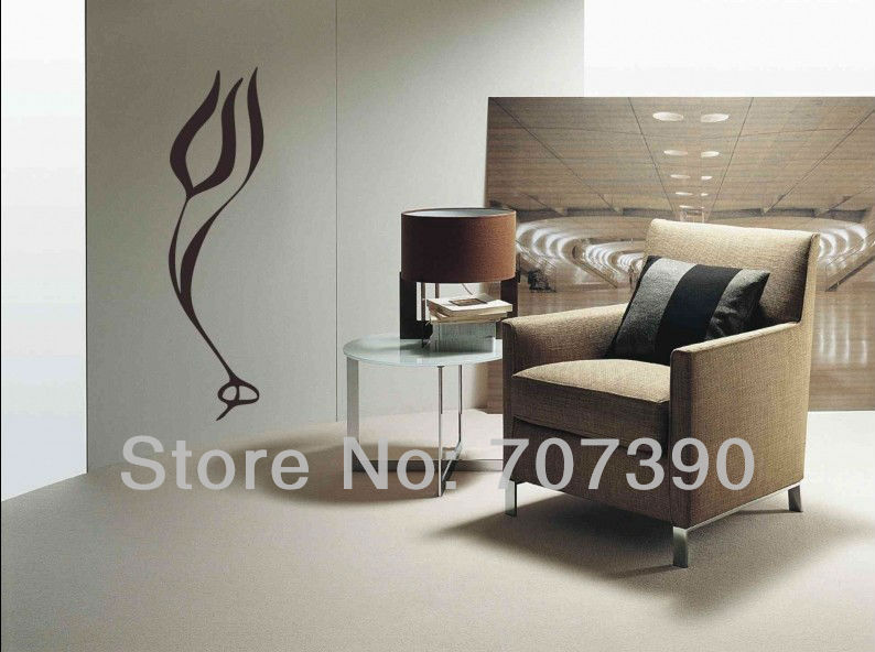 NEW 45*160cm Wall paper decor Home stickers Art PVC Vinyl Murals Decals ISLAMIC FIRE design No39(China (Mainland))