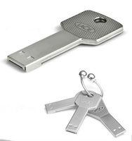 Waterproof Metal Key USB Memory Stick Flash Pen Drive 1-32GB UB76