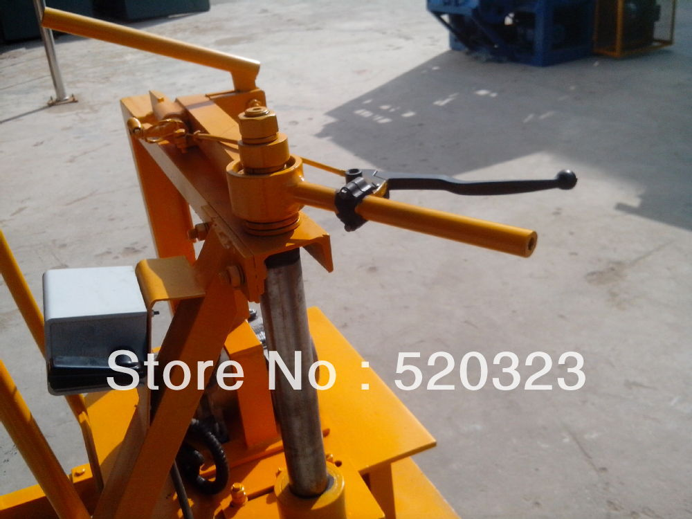 smallest manual concrete block machine from China(China (Mainland))