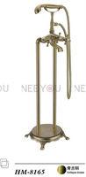 Bronze Free standing Bath shower Faucet  Floor Stand Mixer for bathroom HM8165(5 Years warranty)