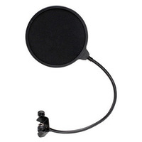 Double layer earobe professional microphone bop cover net windproof cantilever mount general