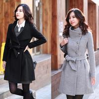 Женский тренч NEW DESIGUAL authentic women Cotton Flax embroidery coat windbreaker jacket