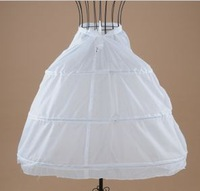 p2 Free shipping 3 Hoop Wedding Bridal Dress Petticoat Underskirt Crinoline Wedding Accessories