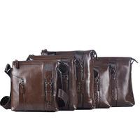 2013 new coming high fashion designer brand genuine leather men handbag  luxury  real cow leather messenger bag for men