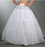 p6 Free shipping three Hoop Wedding Bridal Dress big Petticoat  Crinoline Wedding Accessories