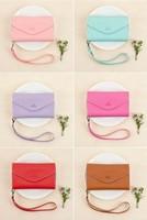 women's PU clutch bag Wallet Ladies designer Purse Checkbook Handbag phone case drop shipping