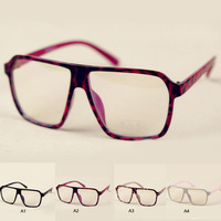 1PCS Large Square Clear Fashion Oversized Eye  Glasses Outdoor H0418