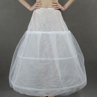 p4 Free shipping three Hoop Wedding Bridal Dress Petticoat Underskirt Crinoline Wedding Accessories