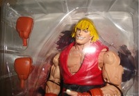 [Igo shopping] Free shipping Neca street fighter 4 ken  U.S. Reds action figure boxed