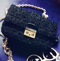 Free shipping Chili miss di little black bag cross-body chain delicate little bag women's handbag