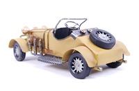 0023B  Metal handicraft iron color convertible  wecker model  free shipping