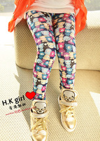 2013 Girls leggings for spring and autumn  Moq:2pcs freeshipping