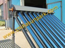 cheap pressurized solar collector