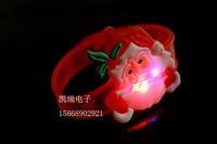 free shipping 12pcs/lot 0949 flash wrist length belt glow bracelets christmas gifts masquerade party props