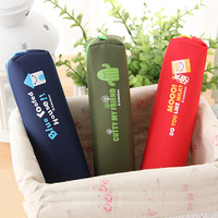 10PCS Stationery waterproof material fashion personalized pencil case stationery box storage bag