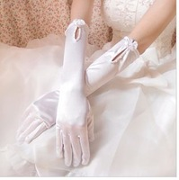 g6  Free shipping Wedding Bridal gloves  Dress Wedding Accessories finger opera bridal gloves