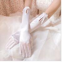 g6  Free shipping Wedding Bridal gloves  Dress Wedding Accessories finger opera bridal gloves 2014