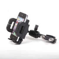 Motorcycle bicycle electric bicycle aluminum alloy teleran rack gps mount mobile phone holder 3