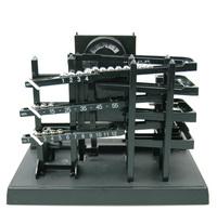 Time , steel ball mechanical clock wall clock