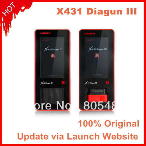 Wholesale--100% Original Launch X431 Diagun III diagnostic tool Launch X-431 Diagun Auto scanner(China (Mainland))