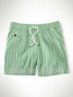 Free Shipping POLO Mens Board shorts 2013 ,wholesale stripe beach pants swimwear swimming shorts for men color blue green BLWHSA