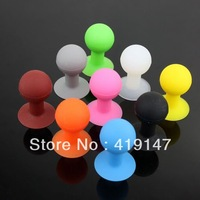 Rubber Octopus Sucker Ball Stand Holder for Tablet Smartphone iPod Touch iPhone 4 4G iPhone 5 5G 30pcs  Free Shipping