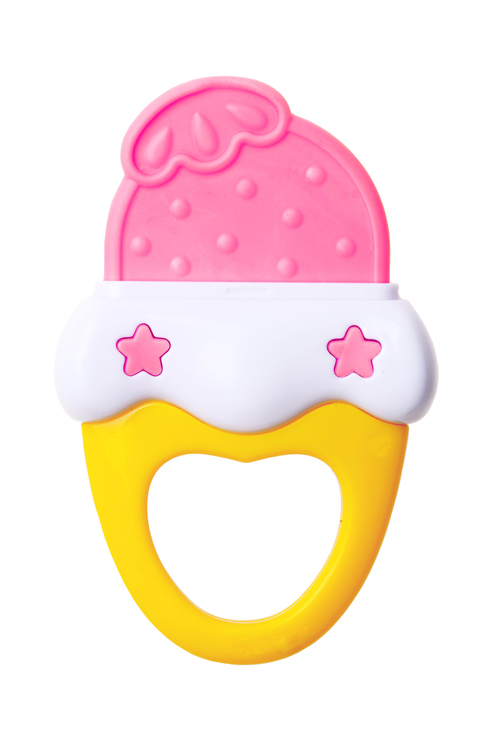 Free shipping Obbe ice cream teethers baby teether toy high temperature resistant 463155(China (Mainland))