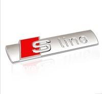 SLINE S LINE For AUDI A4 A6 A8 Q5 Q7 TT Sline EMBLEM Badge Logo
