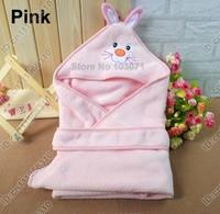 Newborn Baby Kid Child Infant Toddler Swaddle Me Swaddling Wrap Blanket Sleeping Bag Sleepsack Sleep Sack Growbag Hooded--Pink