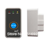 Wholesale Lowest price 2013 Supper Mini wifi elm327 Wifi 327 OBD2 II Auto Diagnostic Scanner tool