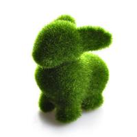 Free shipping cheap artificial grass land,cute animals design decorations eye release fatigue Artificial Turf  rabit