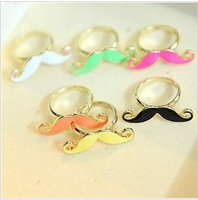Min Order 15$ Free Shipping Vintage Mustache Rings 2013 For Wedding High Quality Wholesale Hot HG0915