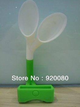 Rabbit Ears Speaker For iPhone 4g 4s Rabbit Speaker Horn With Retail Package,20PCS/LOT