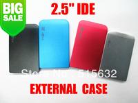 """2.5"""" IDE Hard Drive Disk HDD External Black Case Enclosure Box USB 2.0 Laptop PC four colour"""